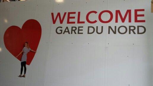 Welcome GDN billboard read heart