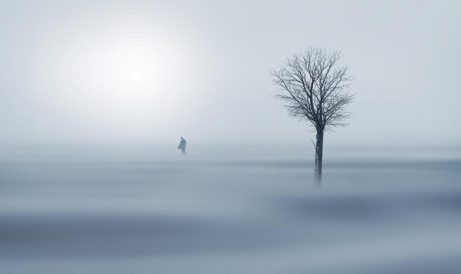 The Nature of Photographs: Gelida nebbia by Antonio Amati.