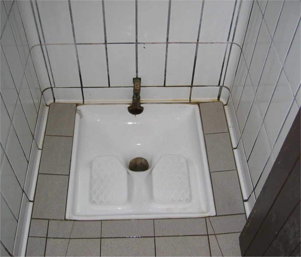 Squat Toilet And Bidet If You Go To All The Trouble Of Tiling And