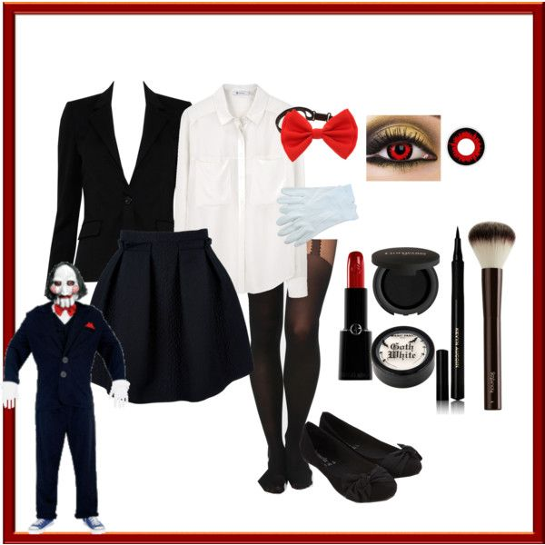 Its a home made Billy the Puppet female version costume. Since they donu0027t have female versions of Billy in any stores I decided to. & My home made Halloween Costume! | Pinterest | Puppet Costumes and ...
