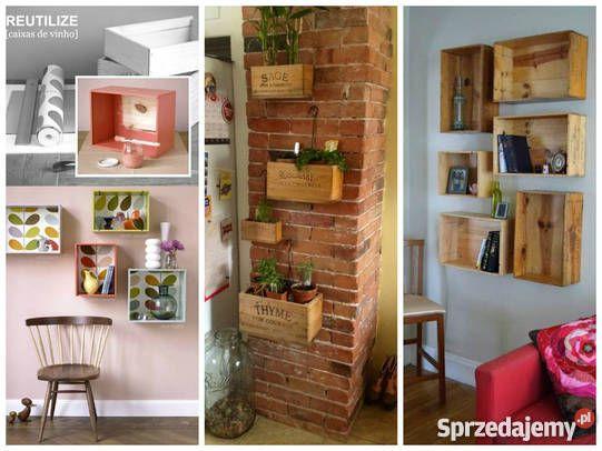 Francuskie Skrzynki Winie Szafa Regal Stolik Czestochowa Home Decor Decor Home