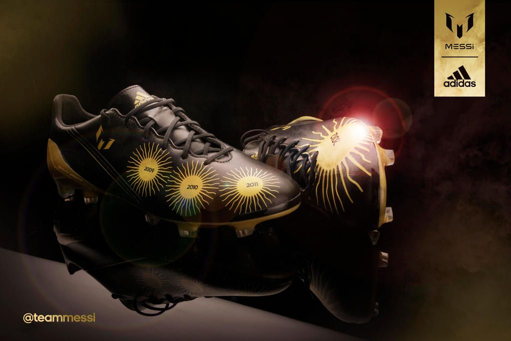 #adidas has made some exclusive Ballon d'Or boots for Leo #Messi.