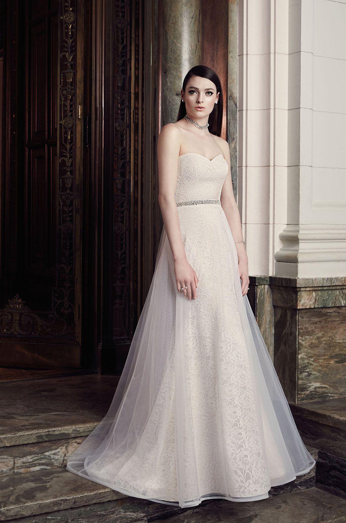 Detachable skirt wedding dress style 2009 wedding