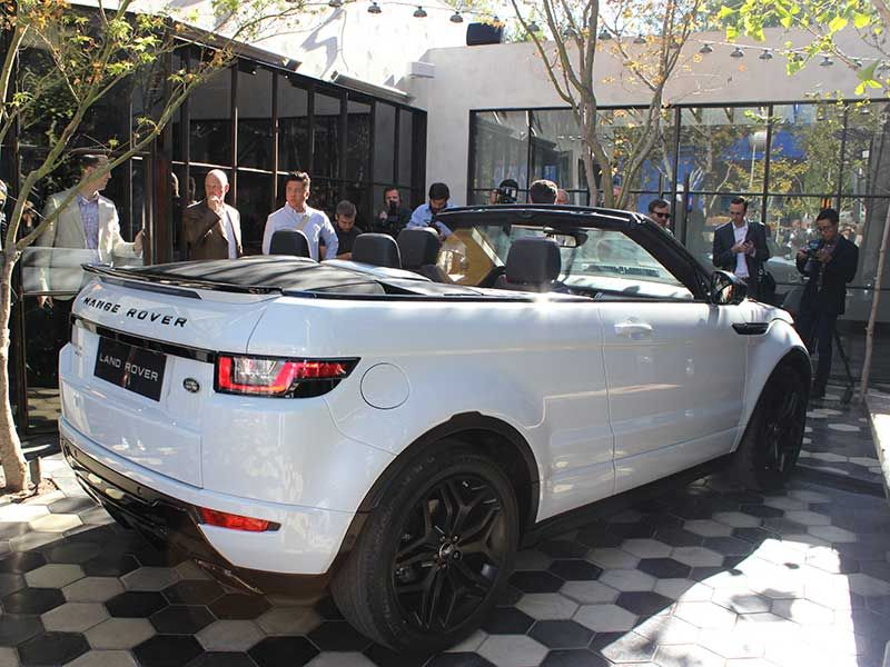 2017 Land Rover Range Evoque Convertible Most Luxurious Suv In The World