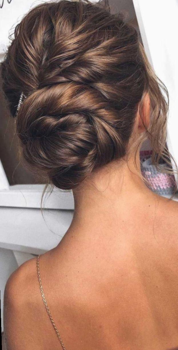 ✔ Hairstyles Wedding Guest Black Hair #mauvehair #pinkhair #reddress #hairstyl…