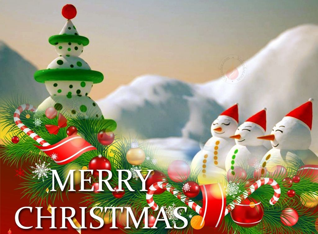Merry Christmas Wallpaper for Desktop Free, Download free ...