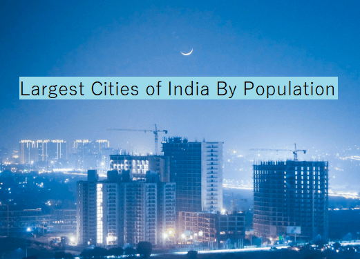 Top 15 Largest Cities Of India By Population Countries Of The World City Coastal Cities