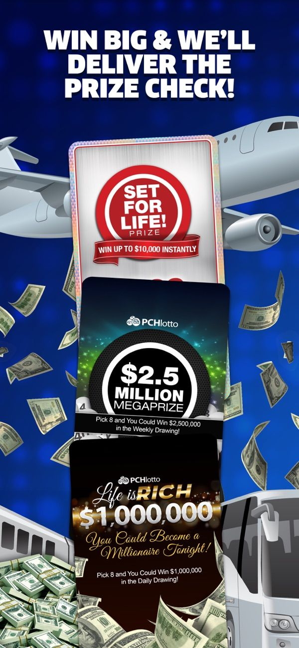 PCH Lotto Real Cash Jackpots on the App Store Jackpot