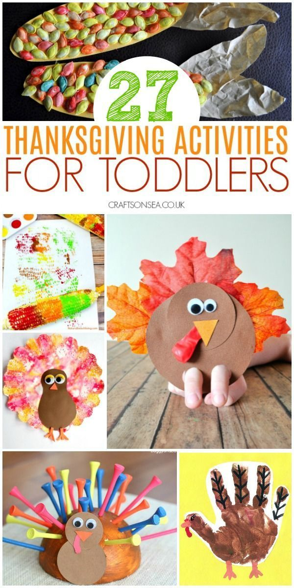 Easy And Fun Thanksgiving Activities For Toddlers Easy Crafts For