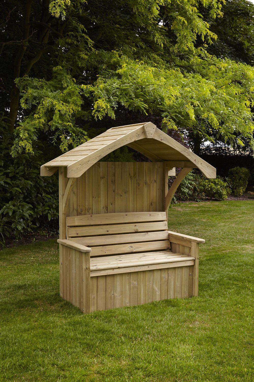 Anchor Fast Tavistock Arbour Simply Wood Garden Arbour Seat Garden Patio Furniture Backyard Landscaping Designs