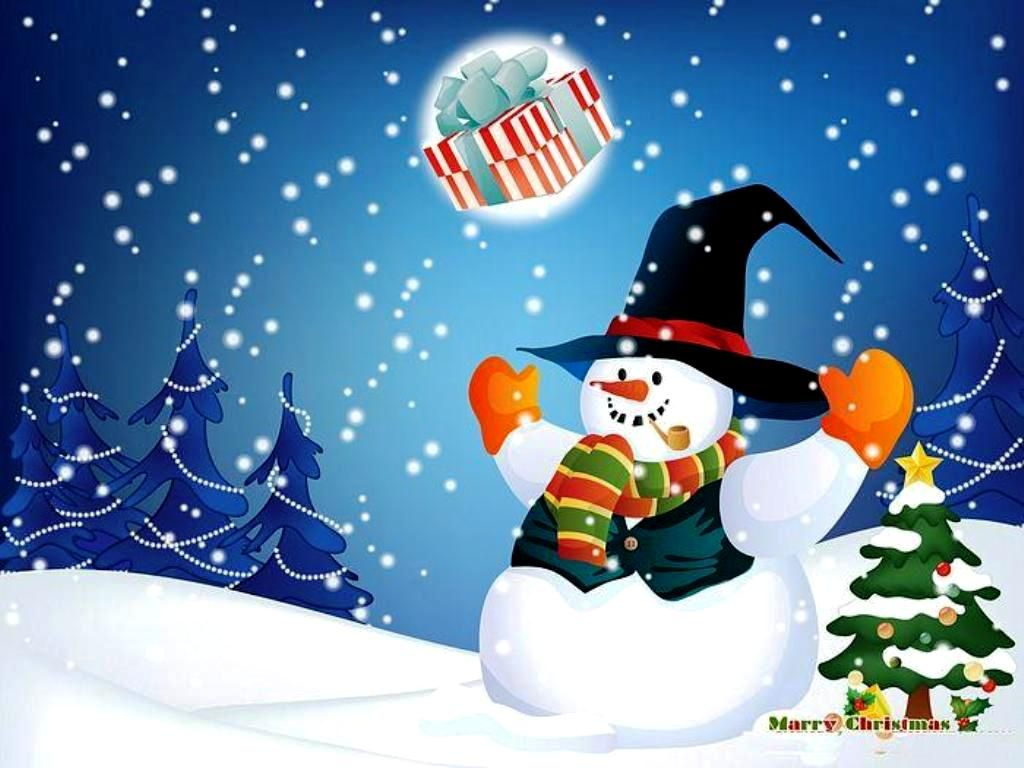 With Animated Xmas Wallpaper Merry Christmas