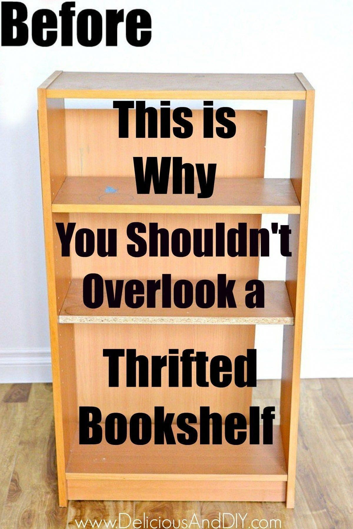Upcycle A Bookshelf With Peel And Stick Wallpaper Delicious And Diy Bookshelves Diy Bookshelf Makeover Diy Furniture Decor