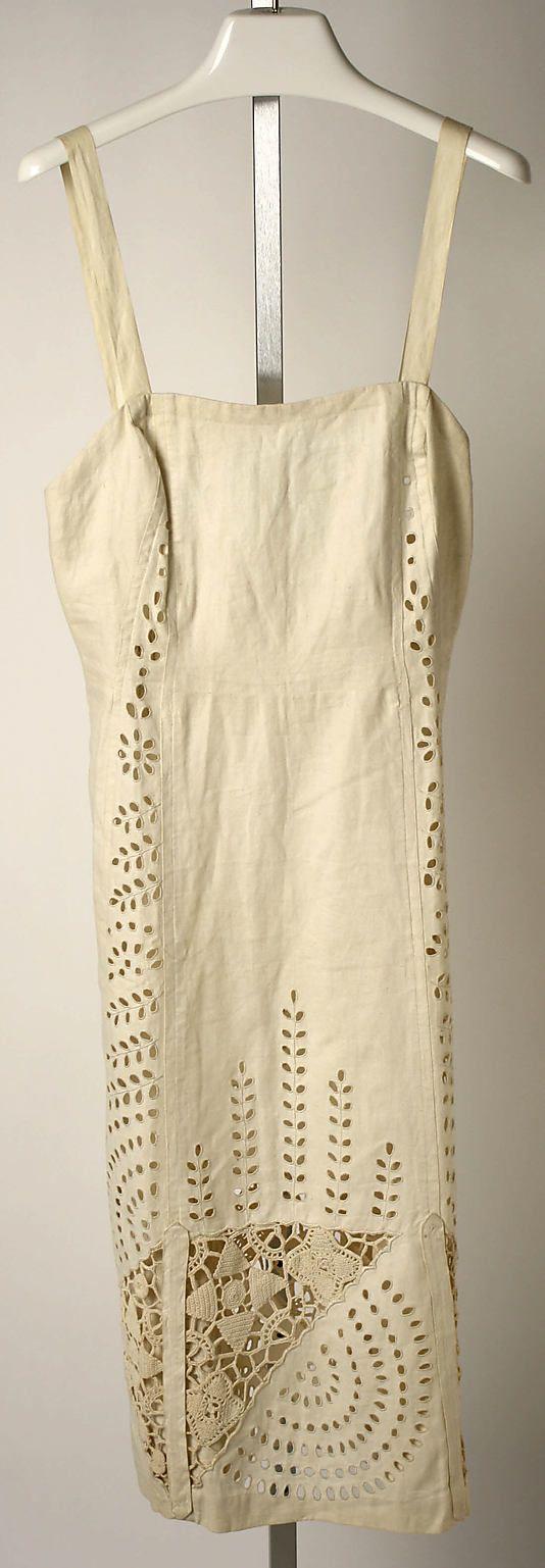 Sundress Valentina (American, born Russia, 1899–1989) Date: 1936–38 Culture: American Medium: flax, cotton