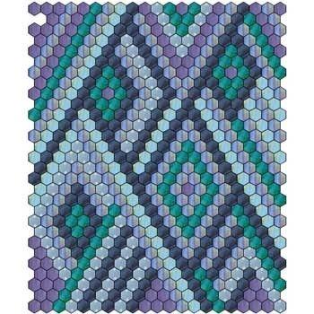 Hexagon Quilt 6 #tischsetnähen