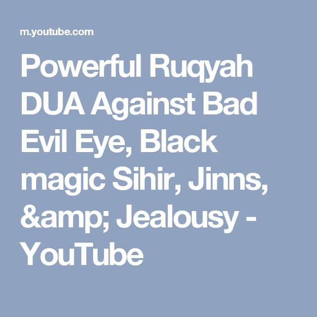 Ruqyah Ayat For Evil Eye {Nhs Alumni}