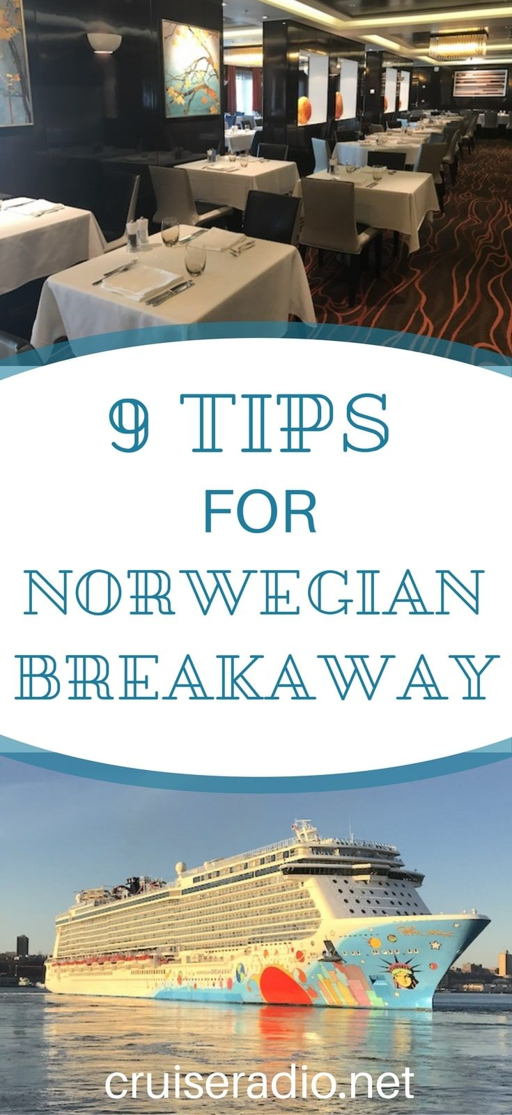 Inspired by a question from a fellow cruiser, we decided to make a post offering tips and advice for Norwegian Cruise Line's ship Norwegian Breakaway.