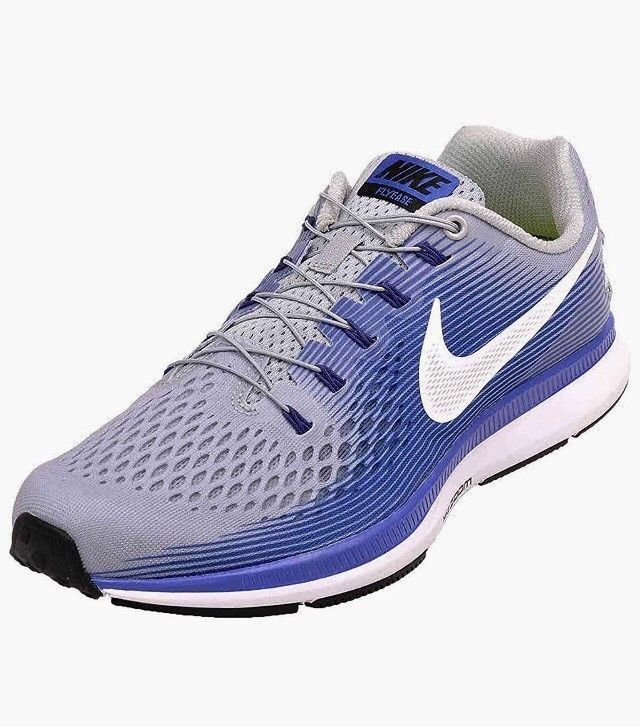 177657b25b5c Nike Men s Size 10.5 NIKE AIR ZOOM PEGASUS 34 FLYEASE 904678 004 GREY BLUE  Retro