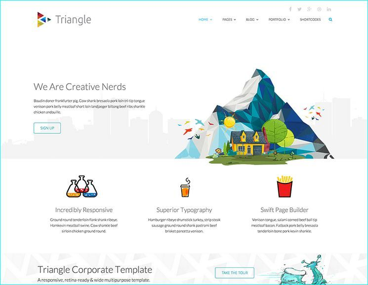 22 best free responsive html5 css3 website templates best free 22 best free responsive html5 css3 website templates cheaphphosting Images