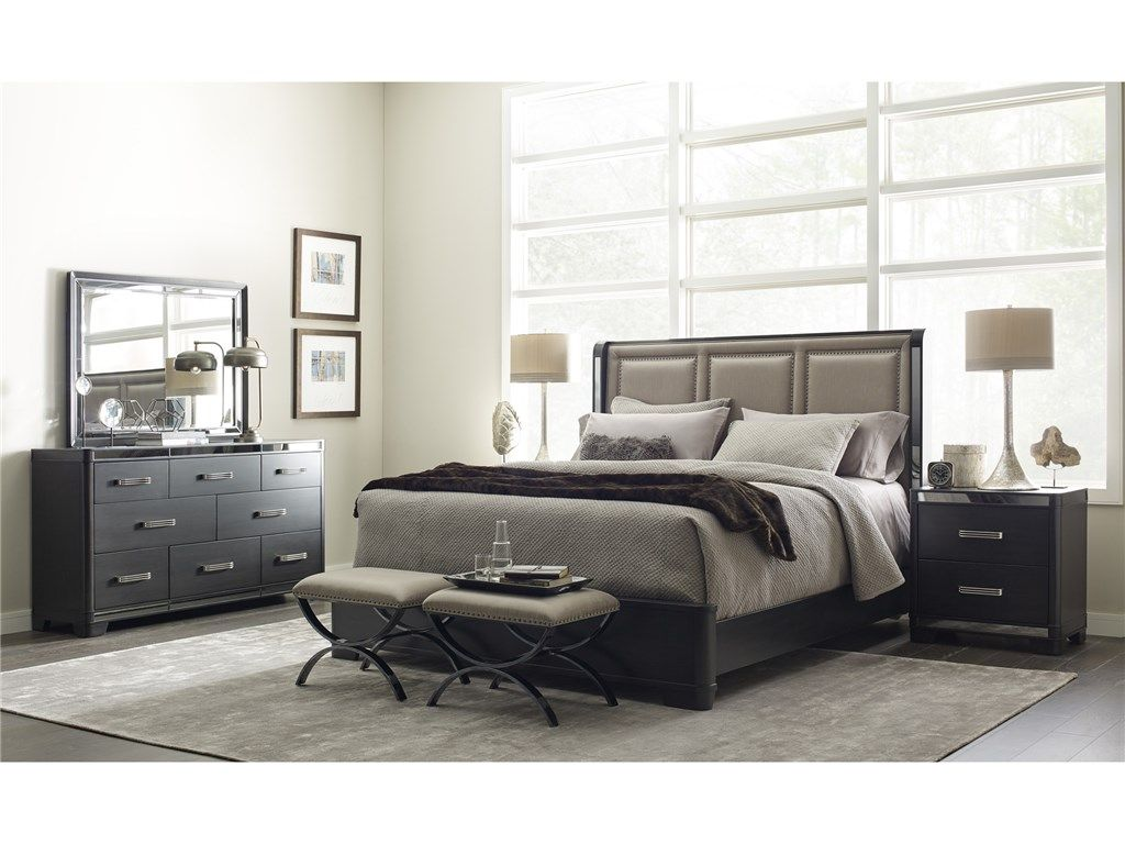 Pulaski Furniture Silverton Sound Bedroom Group King 088090 Furniture Fair Cincinnati