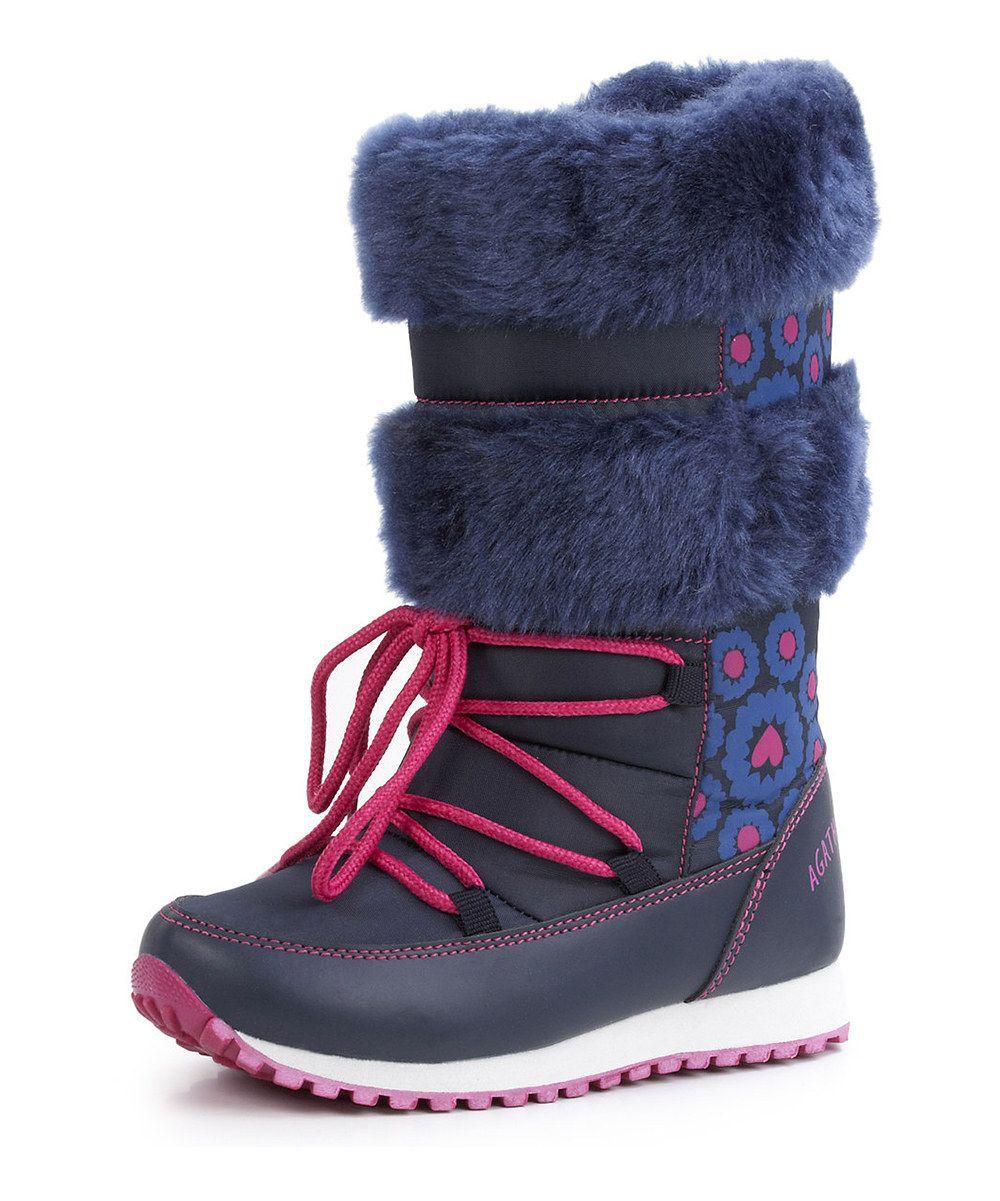 Take a look at this Agatha Ruiz de la Prada Blue Hearts Ski Boot ...