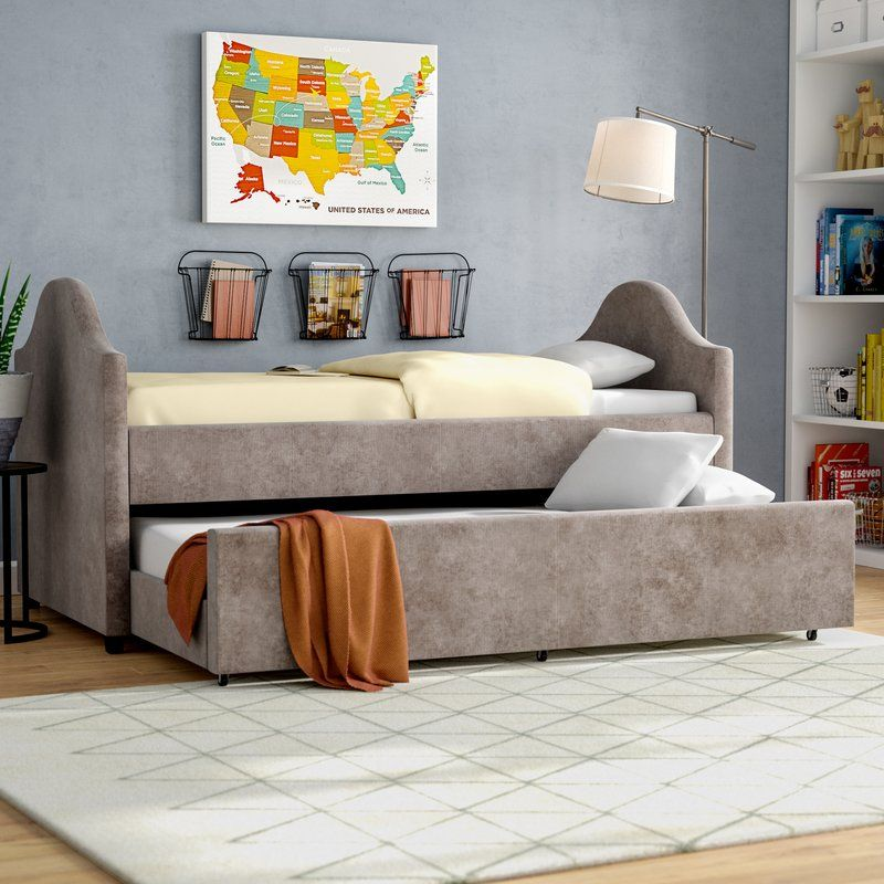 Rosenberg Twin Captain Bed Daybed With Trundle Twin Daybed With