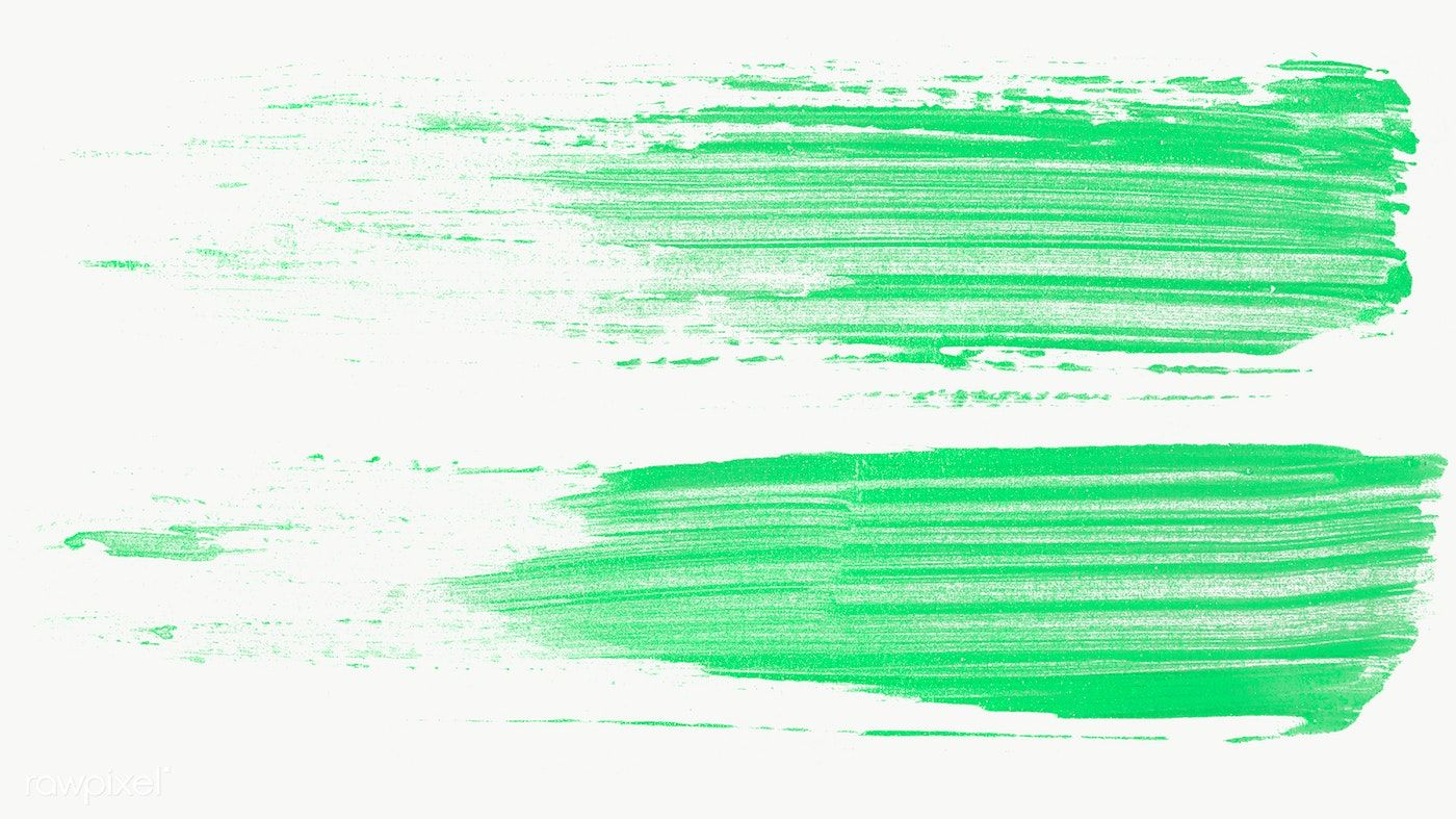 Neon Green Brush Strokes Collection Transparent Png Free Image By Rawpixel Com Nap Brush Stroke Png Paint Strokes Neon Painting