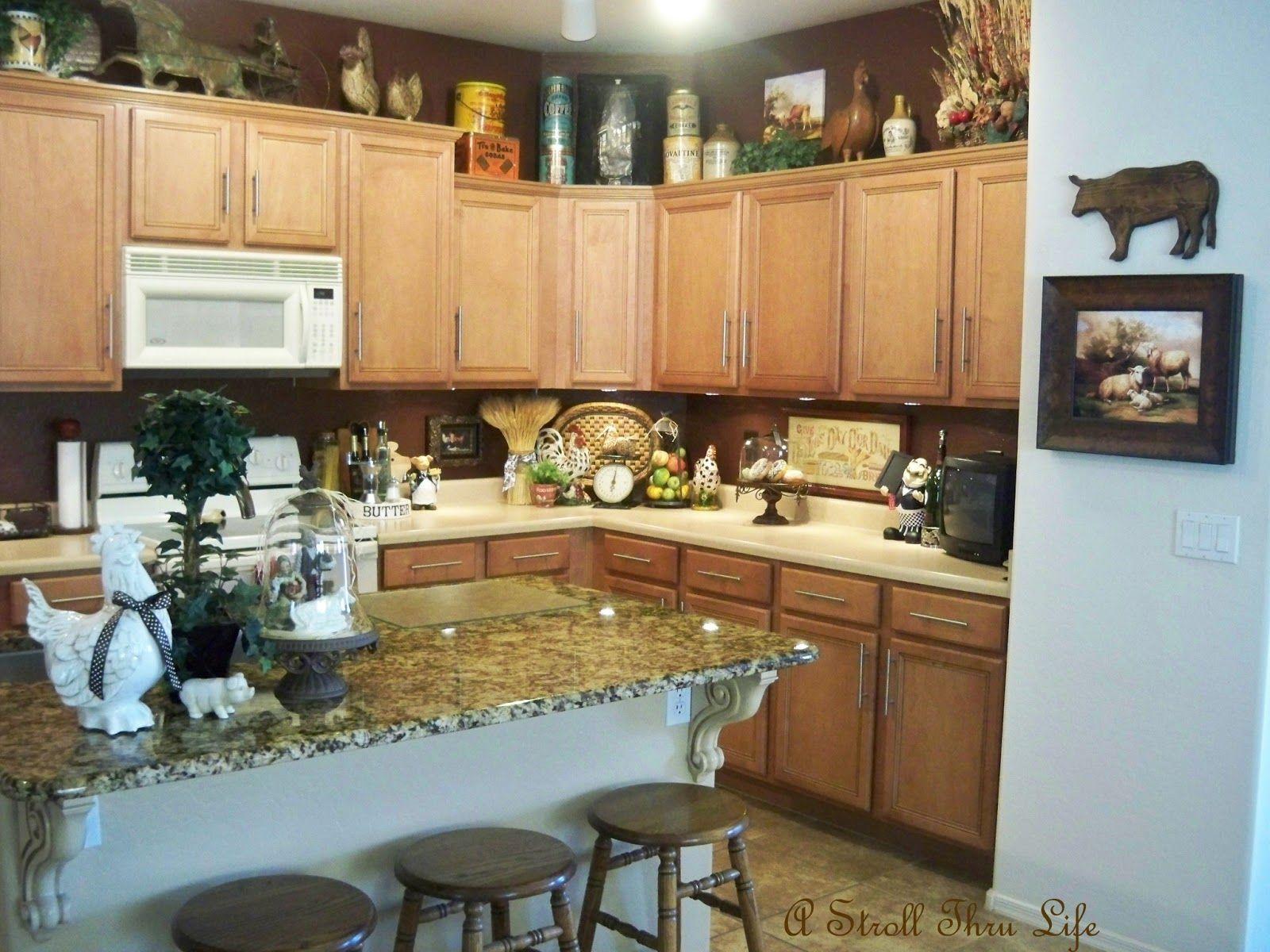 A Stroll Thru Life Kitchen Decor kitchens Pinterest