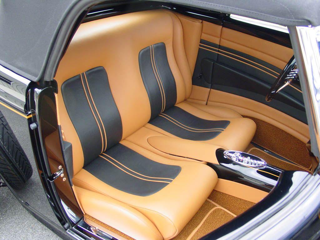 Custom car interior queens ny - Joe Stuban S 1932 Ford Hi Boy Built By Greening Auto Company And M M Hot Rod