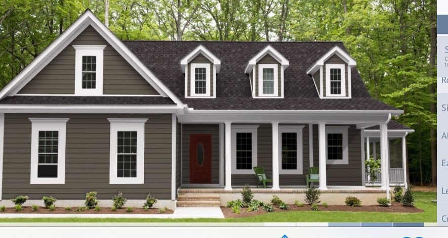 Expresso Craneboard 7 Timberline High Def Charcoal White 5 5 Inch Corner Pieces And White Wide Wind House Exterior Window Trim Exterior Paint Colors For Home