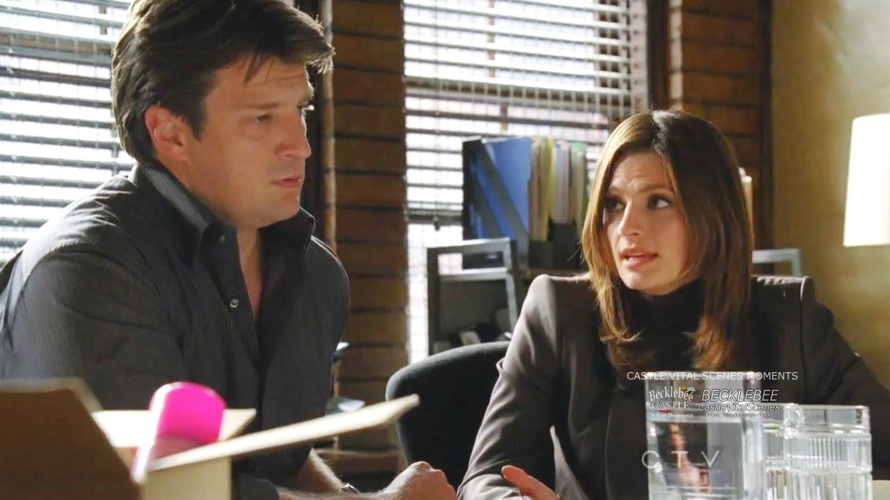 Castle 3x05 Moment: Two lovers reunite after 3 years where would you ...