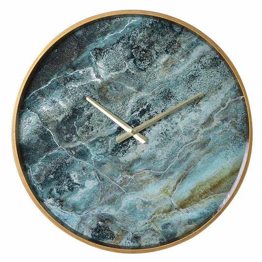 Lagoon Marbled Wall Clock Graham Brown 2017 Collections