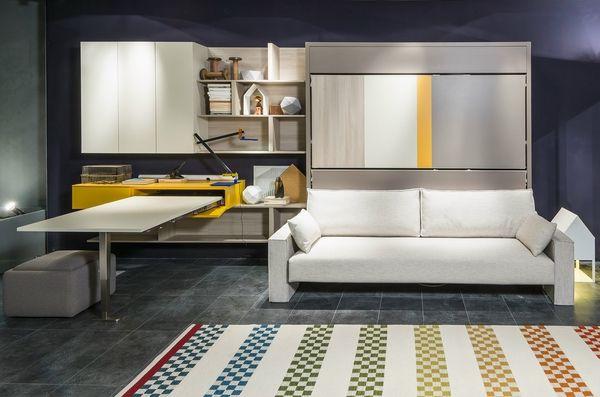 Functional Interior Designs With Modern Murphy Sofa Beds Murphy
