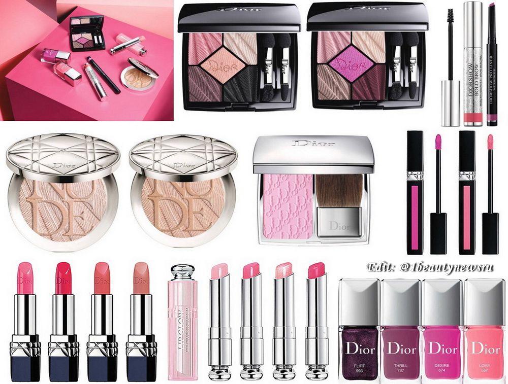 73cf9c2cd9cc1 Весенняя коллекция макияжа Dior Glow Addict Makeup Collection Spring 2018  (уже в продаже .