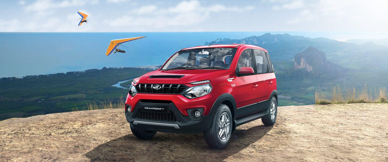 Sporty & Aggressive SUV Mahindra NuvoSport Wallpaper