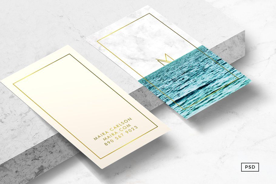 Ocean Business Card Template Business Card Template Business Card Template Design Card Template