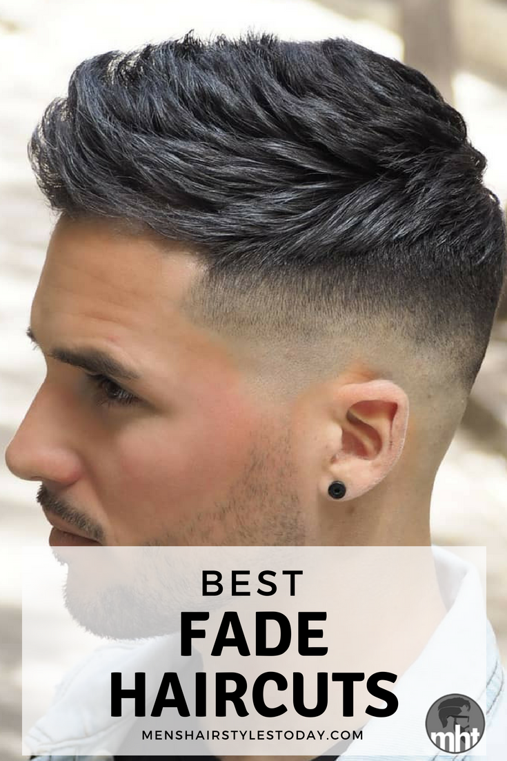35 Best Men S Fade Haircuts The Different Types Of Fades 2020 Best Fade Haircuts Faded Hair Mens Haircuts Fade