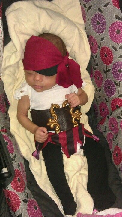 Diy Baby Girl Pirate Costume Baby girl pirat...