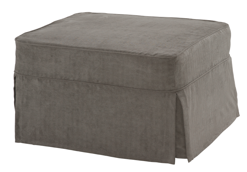 Ottoman With Brown Zebra Slipcover Ottoman Bed Ottoman