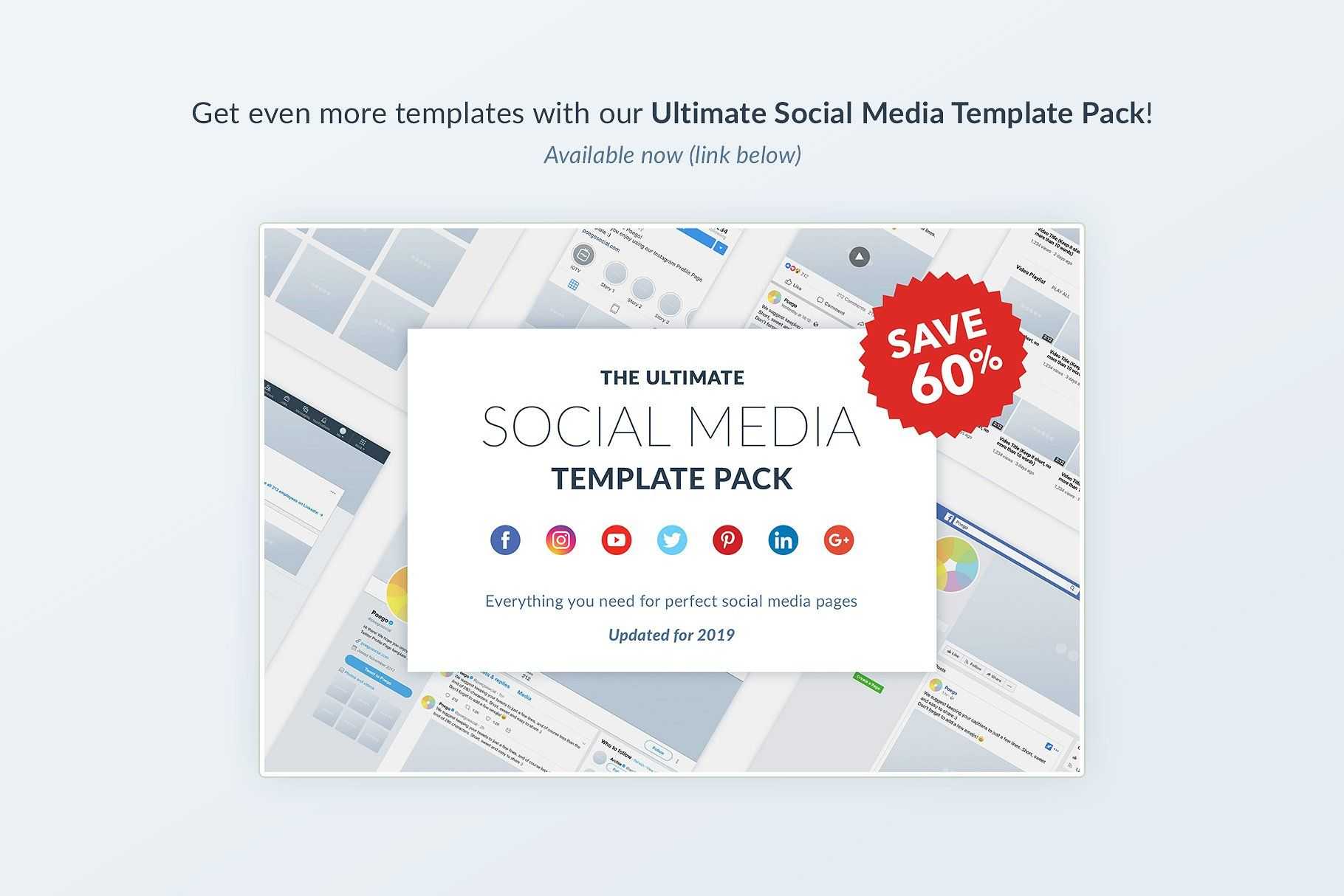 Instagram Social Media Template Pack Social media