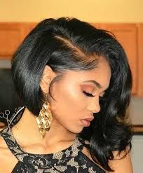 Image Result For Graduation Hairstyles For Black Hair Weave Bob Hairstyles Curly Weave Hairstyles Bob Hairstyles
