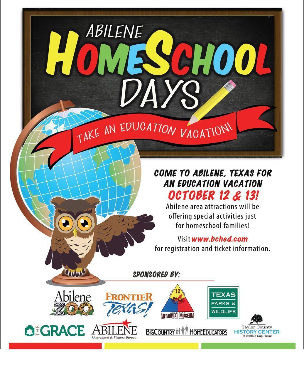 Big Country Home Educators ABILENE HOMESCHOOL DAYS