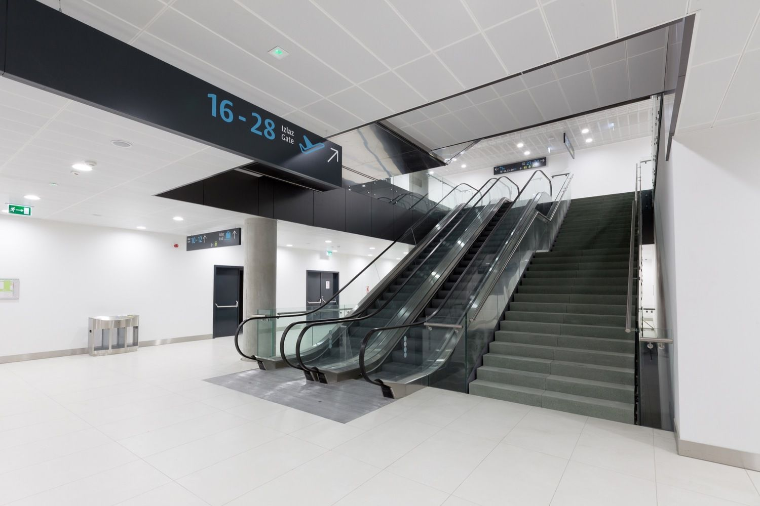 Gallery Of Zagreb Airport Kincl Neidhardt Institut Igh 12 Architecture Project Zagreb Fire Doors