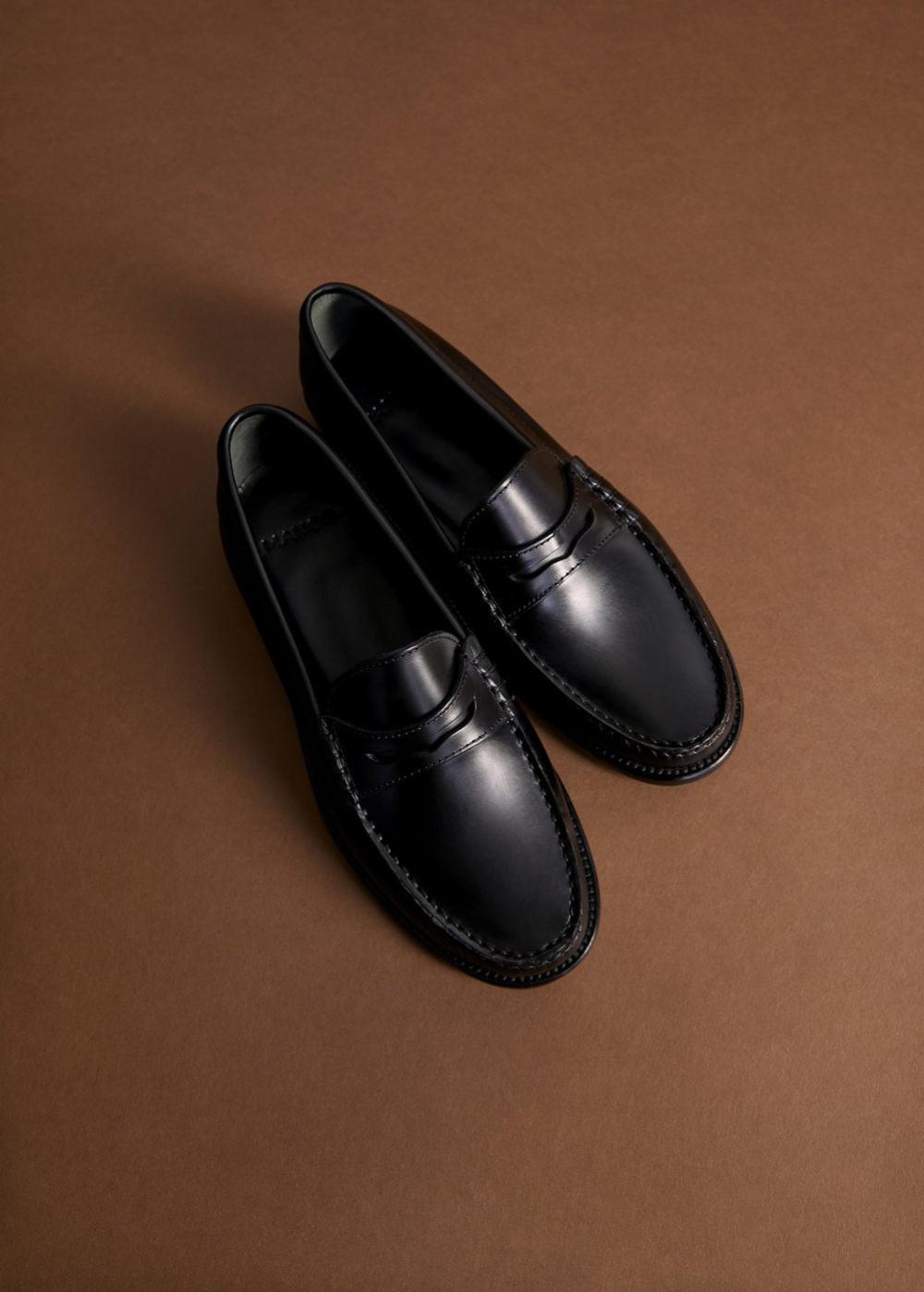 Leather moccasin - Women | Mango USA