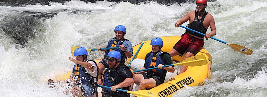 Alabama white water rafting