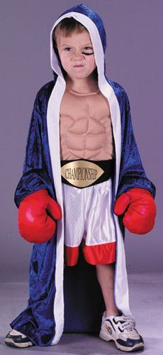 Lil' Champion Boxer Costume Child