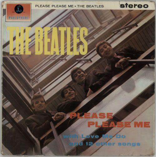 The Beatles Please Please Me 1st Vg Uk Vinyl Lp Album Lp Record 330195 Beatles Albums Beatles Please Please Me Beatles One