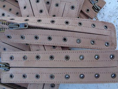 Lace-In Boot Zipper metal YKK Converts Laces  Top Grain Leather  Brown camel