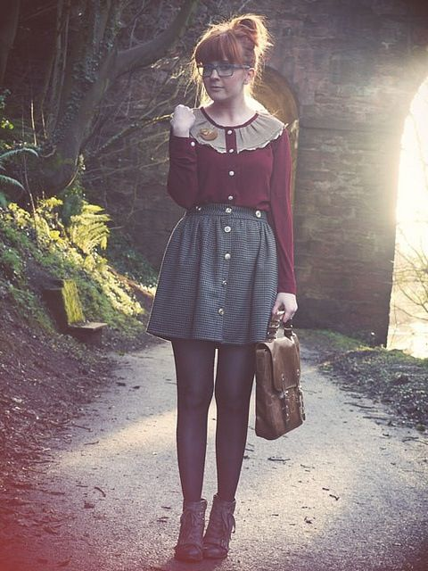 fabulous quirky and vintage outfits signs