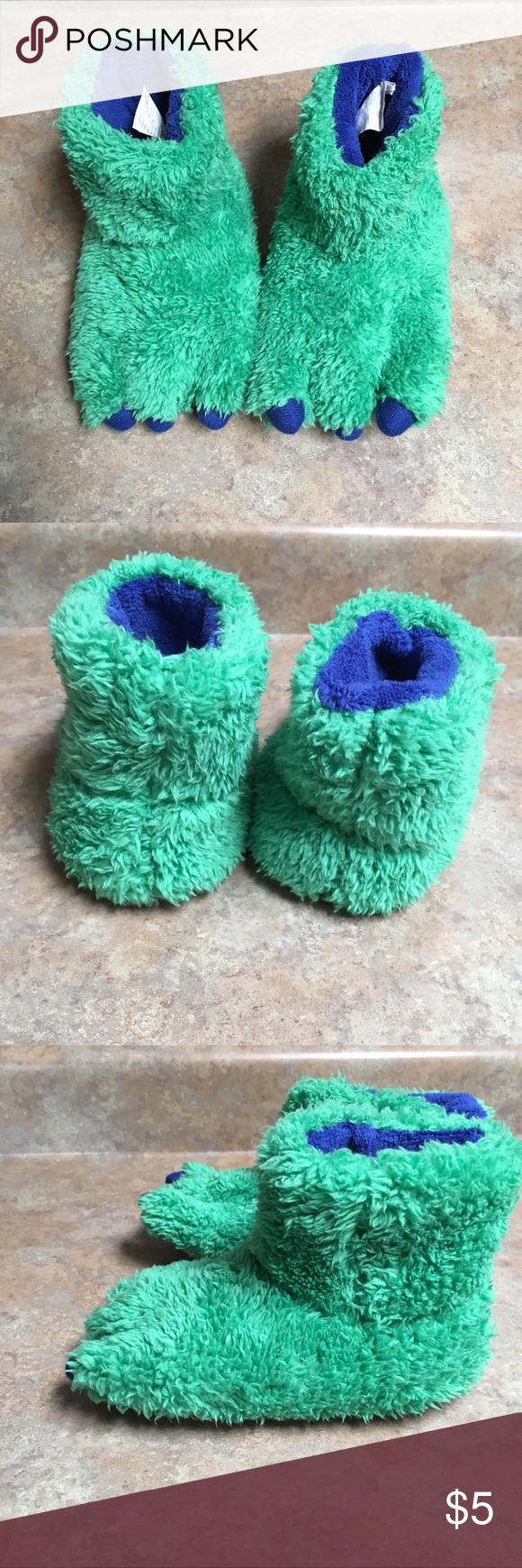 Kids Target Monster foot slippers