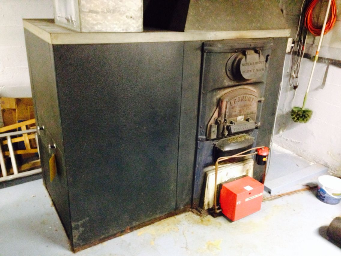 Old Oil Furnace Formerly Coal Furnace From 1940 Oil Furnace Coal Furnace Home Projects